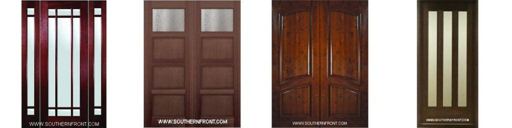 Houston Hardwood Front Doors & Door Installation | Southern Front